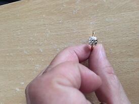 18 carat gold 1.5 carat diamond ring