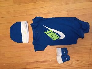 Nike set for baby 0-6 months