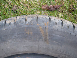 185 65r14 x Tires with Steel Rims 4 x 100mm. $225 obo