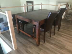 Ashley Furniture Table and Serving Table Set