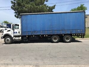 Straight truck flatbed for sale with automatic transmission!!!