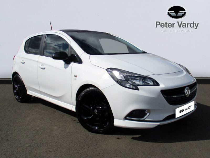 Vauxhall Corsa Limited Edition White 2015 09 28 In