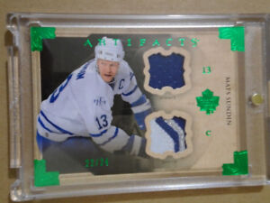 2013-14 UPPER DECK ARTIFACTS, MATS SUNDIN,  HOCKEY CARD!!!