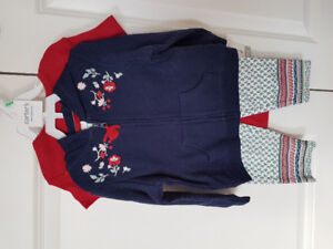 BNWT Carter's girls clothes 18 months