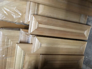 Maple cabinet doors and drawer fronts