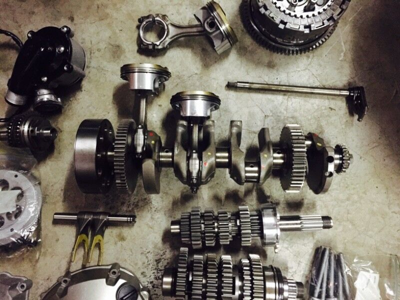 Bmw s1000rr 2016 engine / motor stripping for spares