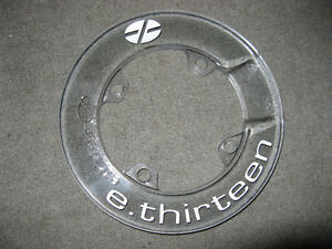 Brand New Clear E-13 Bash Guard - 4 Bolt 104 BCD MSRP $44.99