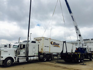 28 ton Mobile Boom Truck Crane -Flat bed- Man basket - $125 Hour