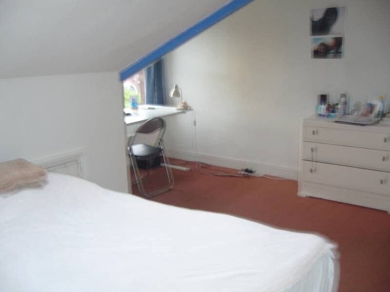 Leeds 8 Large attic room in friendly shared house £250 pcm