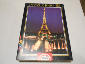 5 puzzles from 500 to 1000 pieces, your choice, or all of them