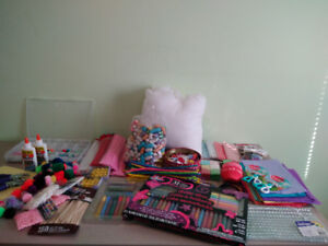 Amazing Box of Craft Supplies for Kids