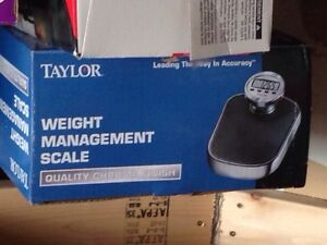 Weight management scale