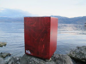 High Quality Hand Crafted Kelly Cajon Box Drum Okanagan Valley
