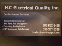 in need of an electrician for your project call us