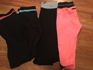 Pink & other yoga bottoms