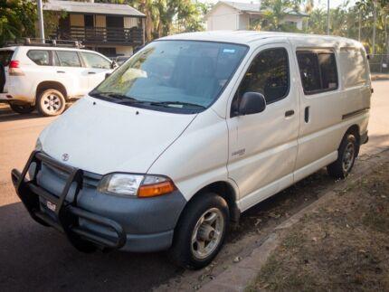 2001 Toyota Hiace Van/Minivan Jingili Darwin City Preview