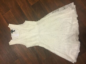 White lace dress for sale