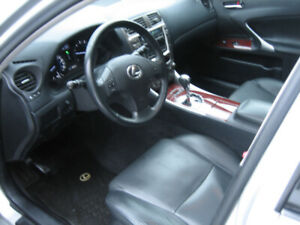 Lexus IS 250 85,421 KM V6 AWD New brakes and tires. Certified