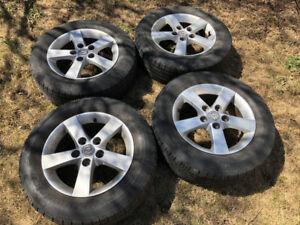 Jantes Mazda 3 et pneus 15po