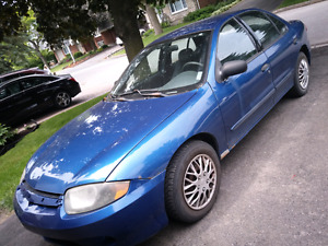 2004 Chevrolet Cavalier automatic a.c. with 220k