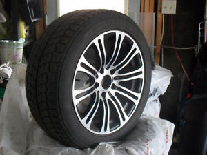 Nankang SV1 Winter Tires 225/50/r17 set of 4 on rims