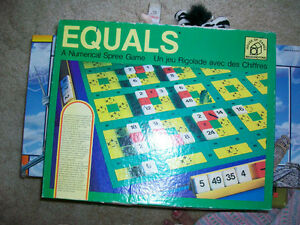 Equals- a numerical  game