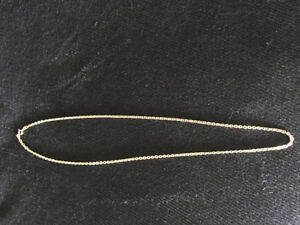 18 k gold chain $400 firm no offers