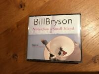 Audio CD's Bill Bryson Notes from a Small Island