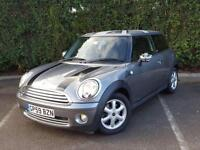2010 59 MINI HATCH ONE 1.4 ONE GRAPHITE 3D 94 BHP