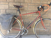 2013 Norco Cabot touring bike - Brooks accessories