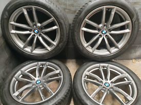 18 inch 5x112 genuine staggered BMW 5 series G30 Msport Alloy wheels
