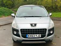 2013 63 3008 Allure Diesel Automatic Low Miles 35K Stunning Looking Car!!