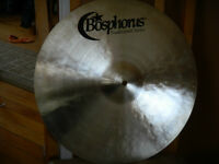 "16 AND 18"" TRADITIONAL MEDIUM THIN BOSPHORUS CYNBALS"