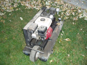 honda powered portable air compressor 514 591 6188