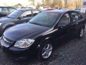 2008 black Chevy cobalt fully certificated  London Ontario image 3