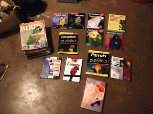 Books and Magazine on Parrots and Related Birds