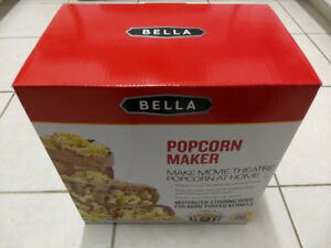 Brand New Never Used Bella Popcorn Maker (Dome Shaped)