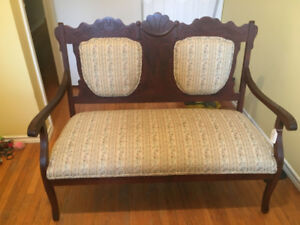 Antique loveseat and chair - make an offer