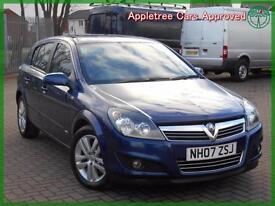 2007 (07) Vauxhall Astra 1.6 16v SXi 5 Door