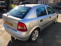 Vauxhall/Opel Astra 1.6i 16v 2002MY SXi