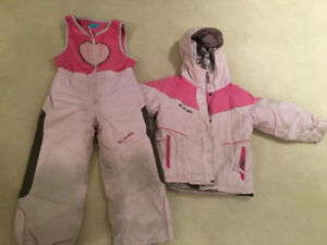 Girls Snowsuits : Gusti size 3x& Colombia 4-5T