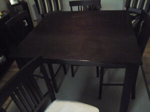 Table , 4 chairs