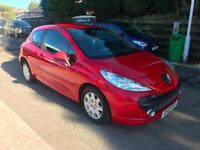 2007 PEUGEOT 207 ACTIVE 1.4 VTI PERTOL 3 DOOR MANUAL ONLY 26000 MILES FROM NEW