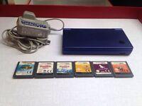 Nintendo DSi Console + 6 Games Mario nintendogs
