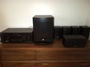 Sony surround system with wireless rear speakers