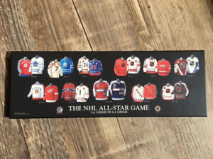Tino Paolini NHL All Star Game Jersey/History Plaque Watercolour