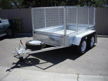 8 X 5 Tandem Cage Trailer THIS WEEKS SPECIAL Para Hills West Salisbury Area Preview