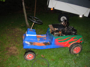 Winter project Go Kart