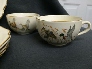 4 Game Bird Sandwich Plate & Cup Combo London Ontario image 4