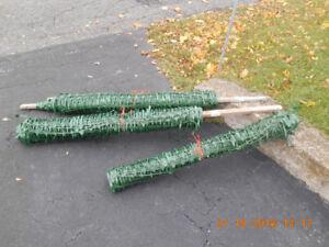 Rouleaux de clôture à neige